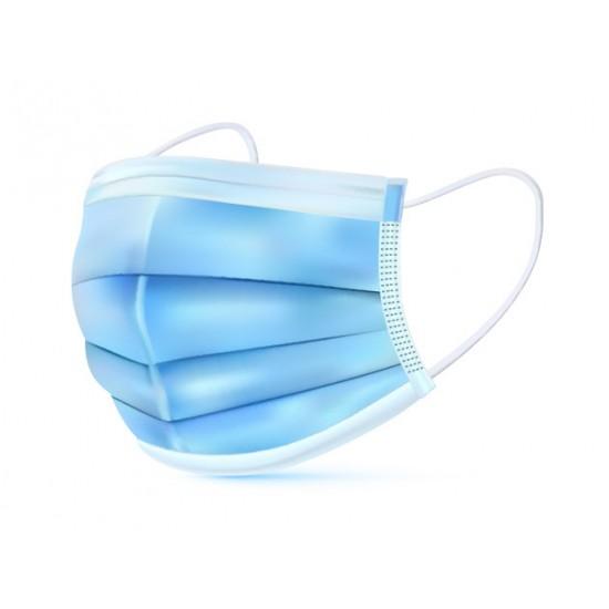 Zaščitna maska troslojna 200kom - 4x 50kom  - higienske