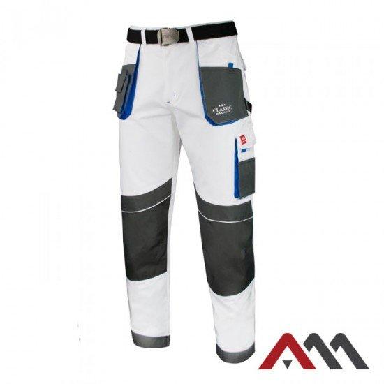 Bele delovne hlače MAXIMUS