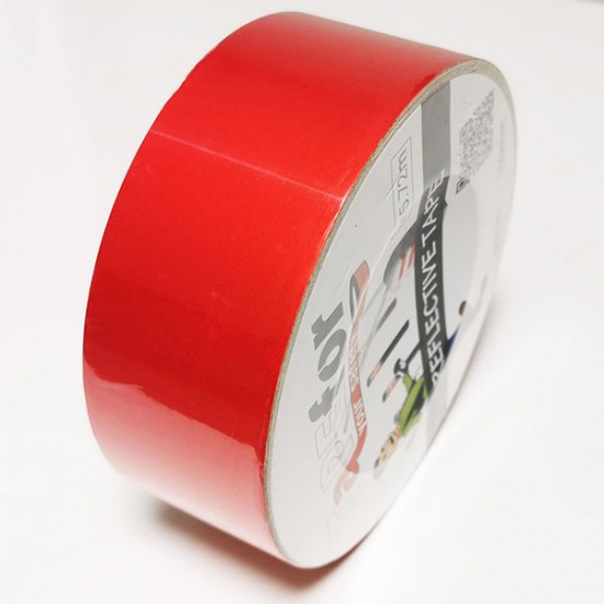 Rdeč odsevni trak 50mm