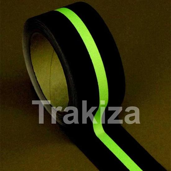 Protizdrsni trak svetleča črta 50mm x 18,3m