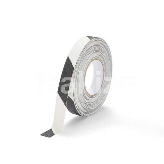 Protizdrsni trakovi svetleči/črni 18,3m