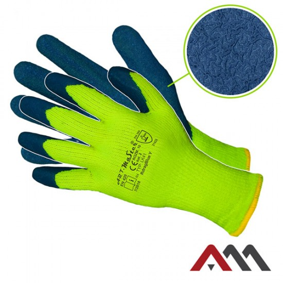 Zimske zaščitne rokavice Snežko (RDRAG BLUE Y kat.2)