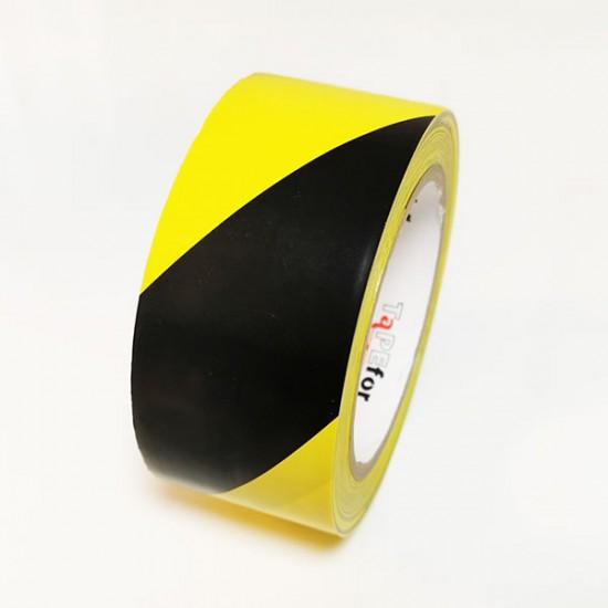 Označevalni trak rumeno črn Tapefor 30m